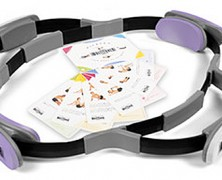 Multitoner Pilates Ring with Two Different Resistance Levels Built in to the Product